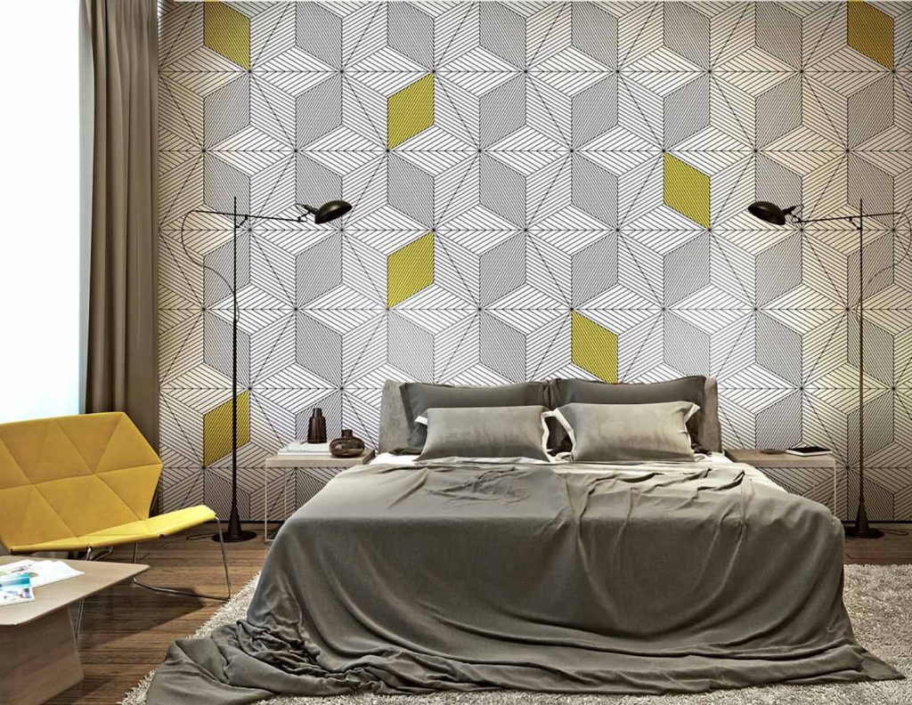 Tapety drukowane Wonderwall meble Bielsko